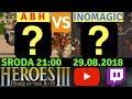 🔴 LIVE [PL] - Heroes3 HotA 1.5.3 : ABH vs Inomagic