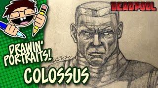 Portrait Drawing COLOSSUS (DEADPOOL MOVIE)
