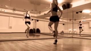 go go, связка медленно  LisichkA урок танца