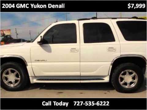 2004 GMC Yukon Denali Used Cars New Port Richey FL - YouTube