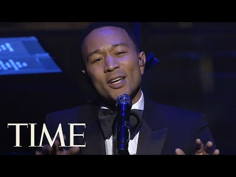 John Legend Sings Beach Boys 'God Only Knows' & 'Surefire' At TIME 100 Gala | TIME 100 | TIME