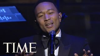 John Legend Sings Beach Boys 'God Only Knows' & 'Surefire' At TIME 100 Gala   TIME 100   TIME