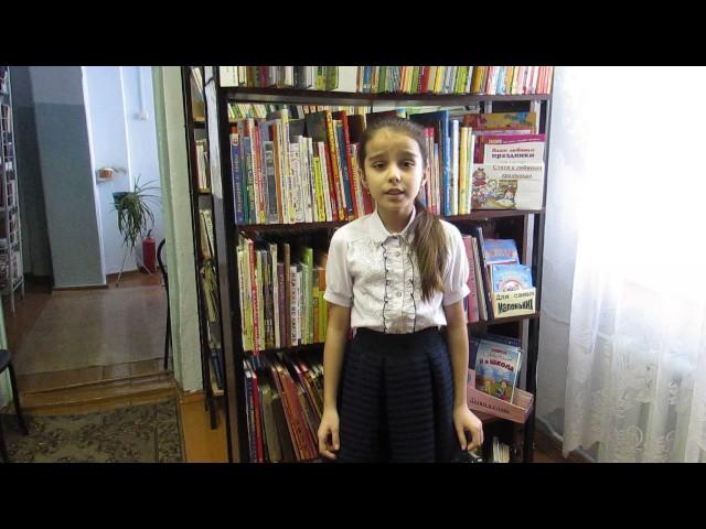 Изображение предпросмотра прочтения – ИлахаАбдулкеримова читает произведение «Дети и птичка» А.Н.Плещеева
