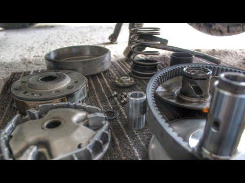 Mio i 125 M3 CVT Cleaning Tutorial | Panggilid |
