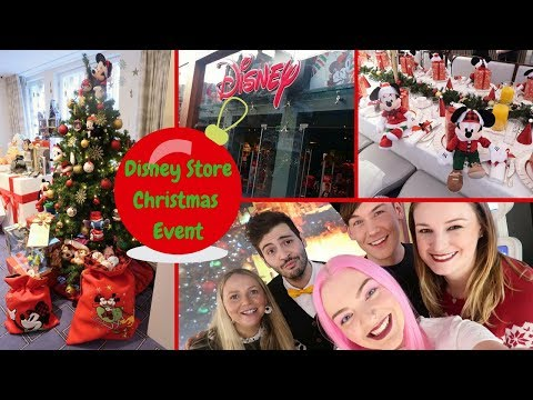 Disney Store Christmas Breakfast & Shopping Event Vlog | Gift Magic