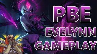[ITA] EVELYNN REWORK , ZED 2.0 - FULL GAMEPLAY EVELYNN PBE - League Of Legends