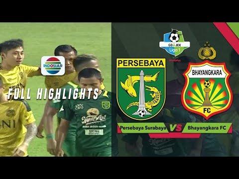 PERSEBAYA SURABAYA (1) VS (0) BHAYANGKARA FC – Full Highlight | Go-Jek Liga 1 bersama Bukalapak