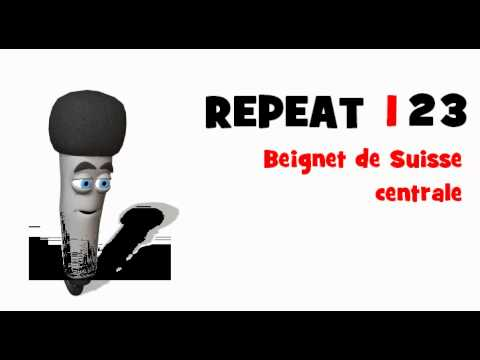 LEARN FRENCH = LISTEN AND REPEAT = Beignet de Suisse centrale