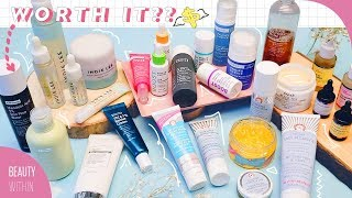 🔥 Reviewing MOST HYPED & POPULAR Skincare Products: Klairs, Fresh, First Aid Beauty & More! (Pt. 3)