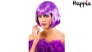 Фиолетовый короткий парик «Трикси» / Обзор