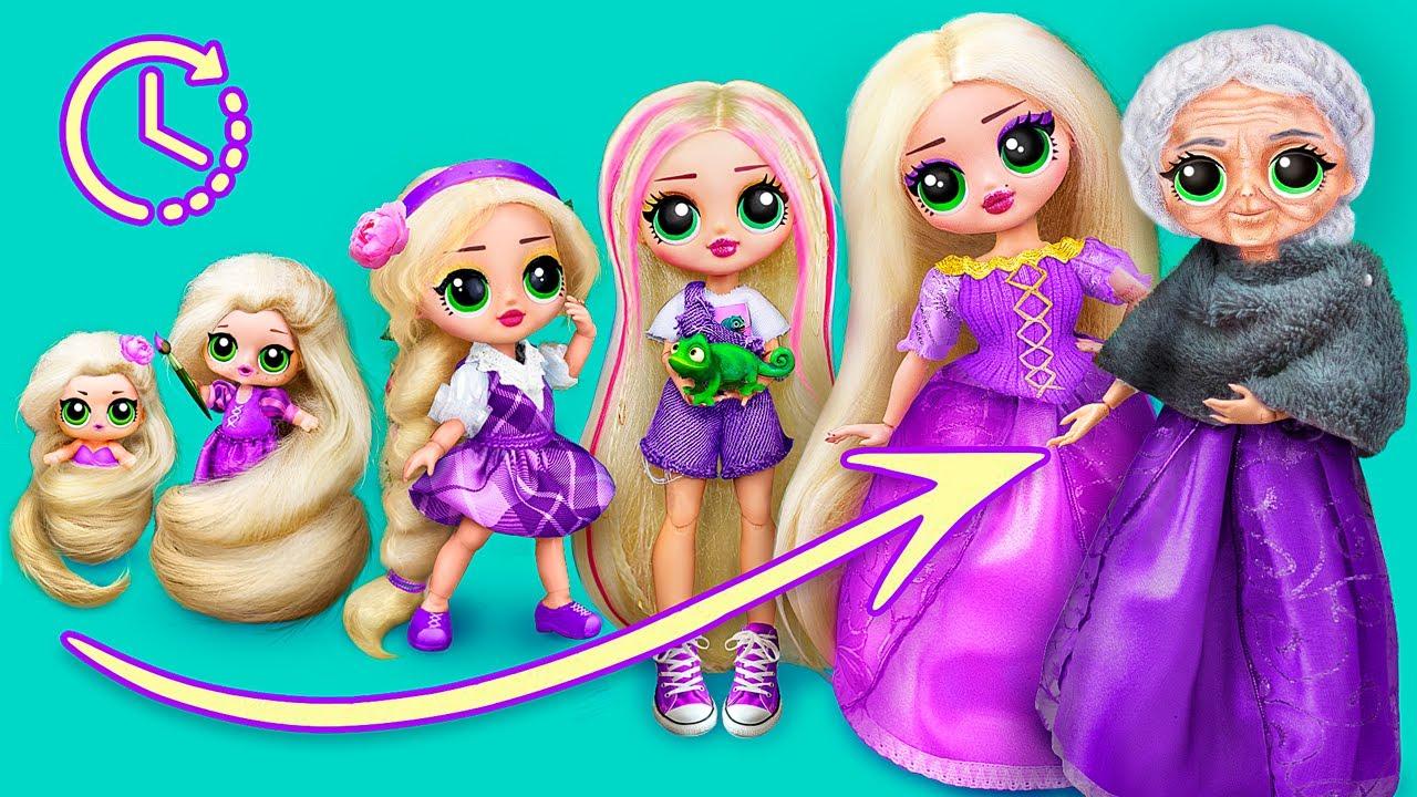 Download Rapunzel Growing Up / 10 Doll DIYs