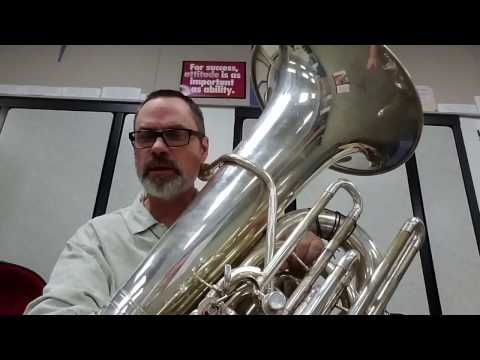 Pitch-Bending on Tuba March 31, 2017