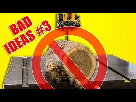 Bad Ideas in Woodworking Episode 3 / Workshop Fails