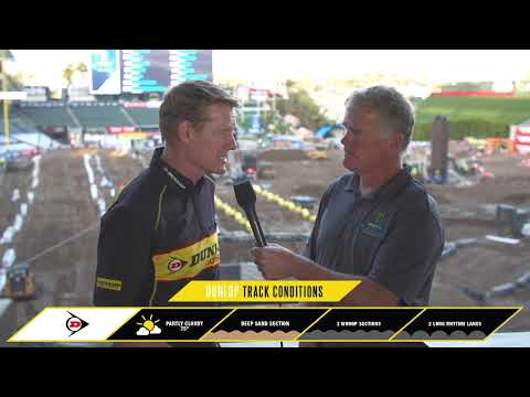 Dunlop Track Conditions Report - Anaheim 2
