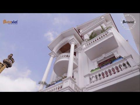 Biệt thự 3 tầng Tân cổ điển thanh lịch nhà ông Đơ – Thái Bình