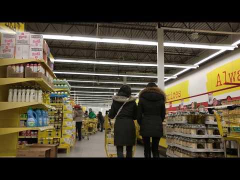 Walking Tour of No Frills Supermarket at Photography Drive, North York, Toronto, Ontario, Canad [4K]