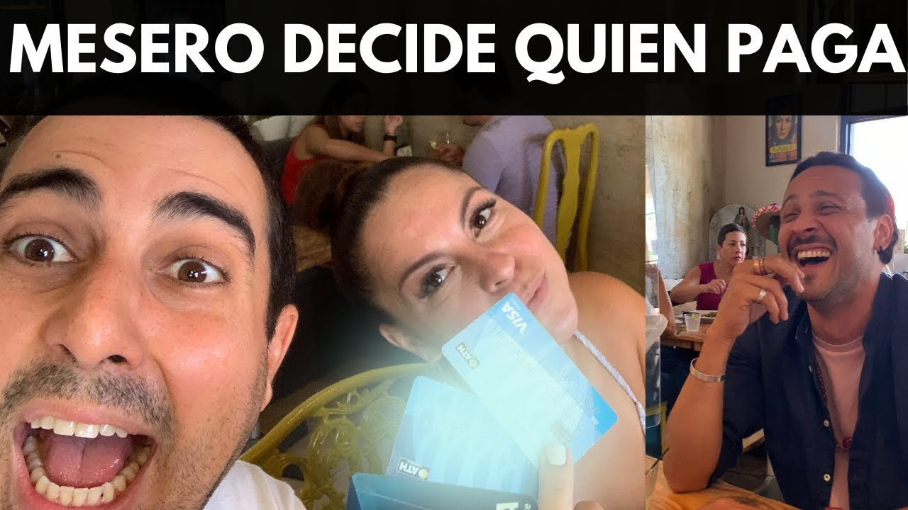 MESERO DECIDE QUIEN PAGA CUENTA | VLOG 145 | Alejandro Gil