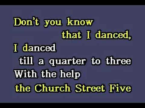 DK080 09   Bonds, Gary U S    Quarter To Three [karaoke]