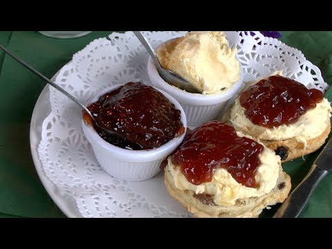 """Award winning scone maker Kevin of """"Dart To Mouth Deli"""" Dartmouth uk shares his secrets."""