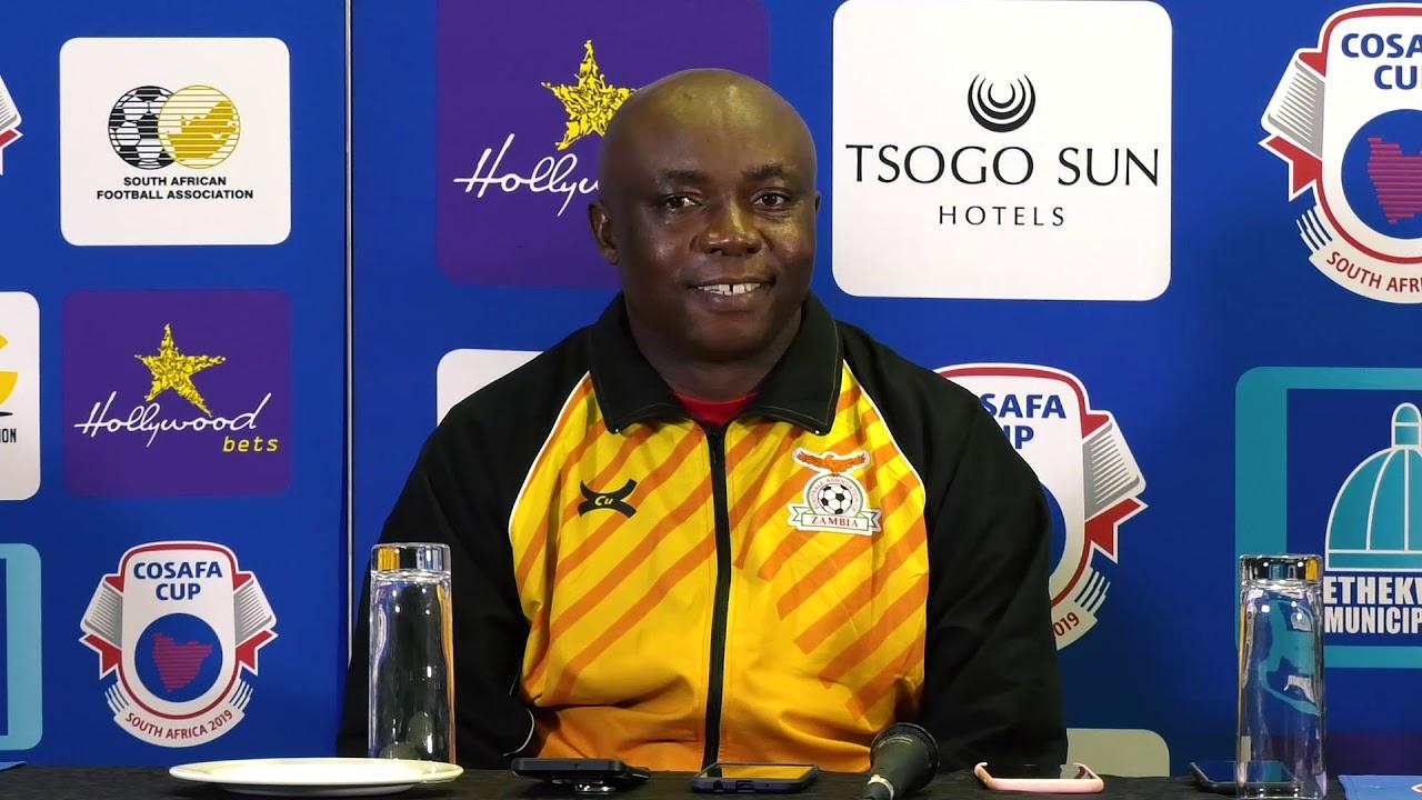COSAFA Cup 2019: Zimbabwe vs Zambia Cup Semi-Final Post Match Conference
