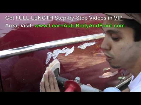 How To Fix Scratches on a Car – Automotive Scratch Removal Tips!
