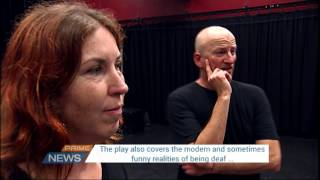 At the end of my Hands - the sign language play