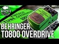 Behringer TO800 Vintage Tube Overdrive Demo | Affordable Tube Screamer