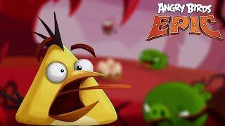 Angry Birds Epic RPG - Rovio Entertainment Ltd CAVE 10 CITADEL 10 BOSS