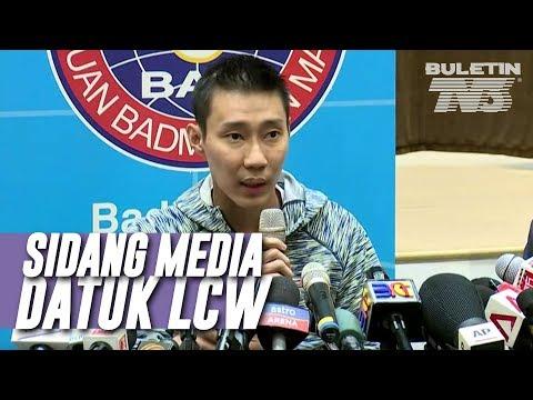 Sidang Media Datuk Lee Chong Wei