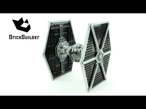 Lego Star Wars 75211 Imperial TIE Fighter  - Lego Speed Build