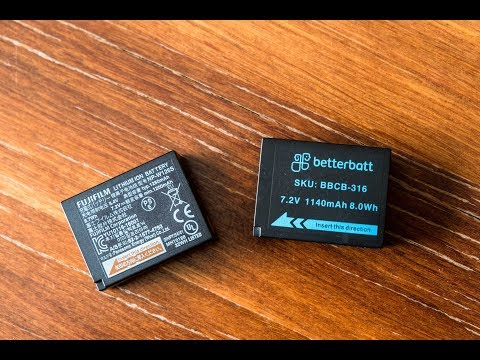 Camera batteries- Original or Generic?