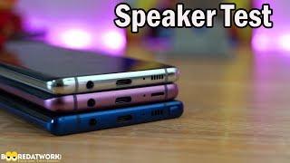 Galaxy S10+ vs Galaxy Note9 vs Galaxy S9+: Speaker Test