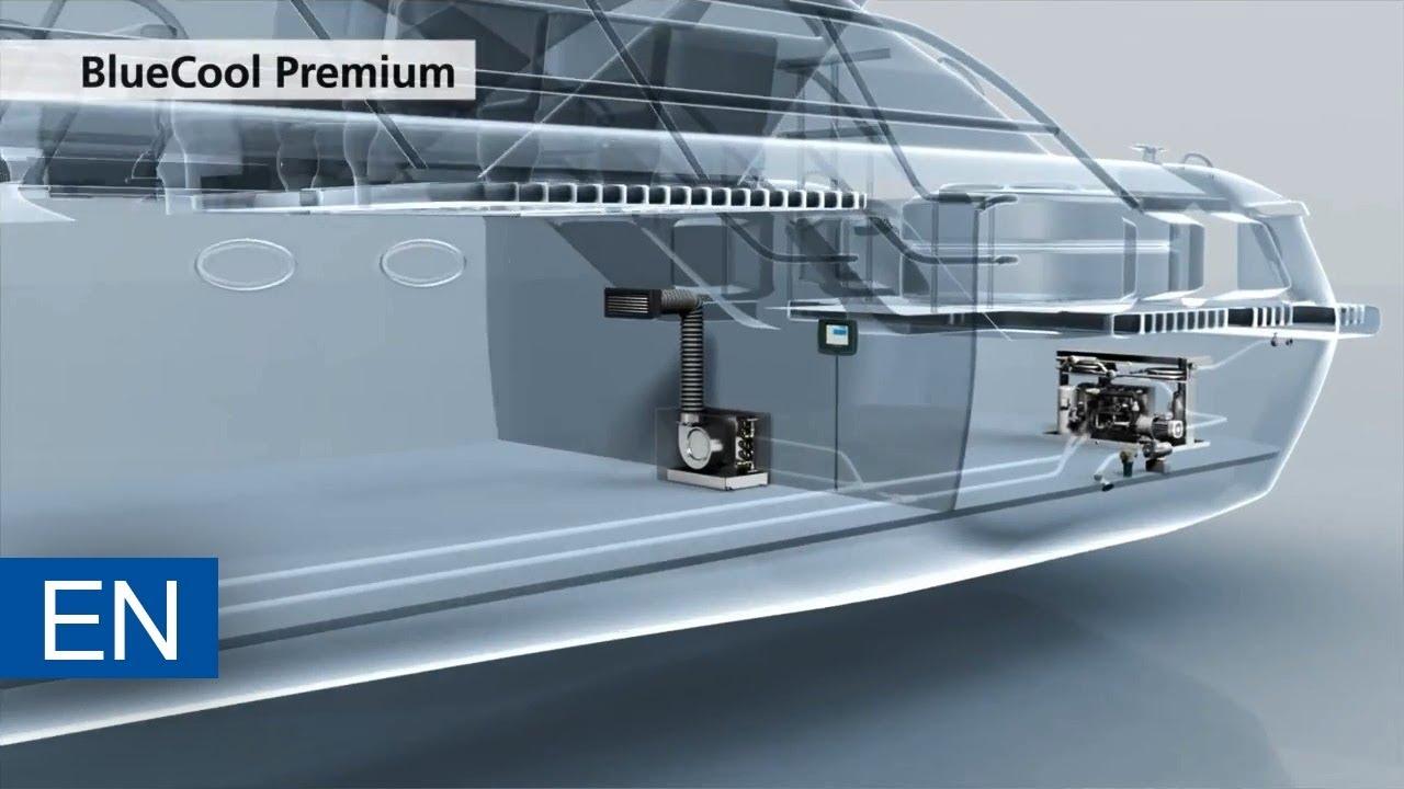 Webasto Marine BlueCool Premium - yacht air conditioner
