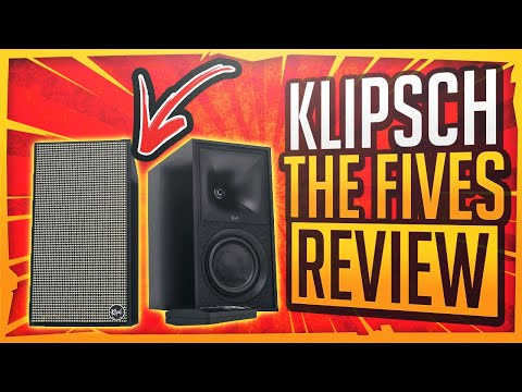 Klipsch, The Fives - Are These Powered Bookshelf Speakers The Best High Tech Speakers Today?