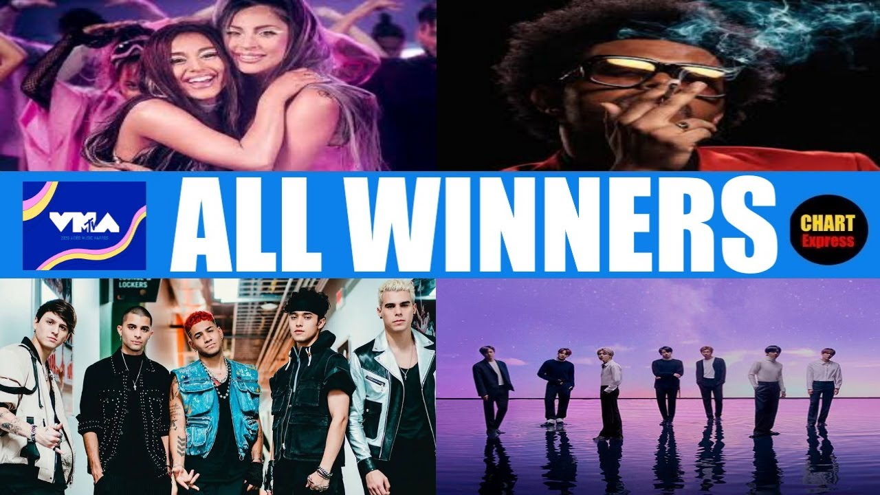 Vma S 2020 All Winners 2020 Mtv Video Music Awards August 30 2020 Chartexpress Youtube