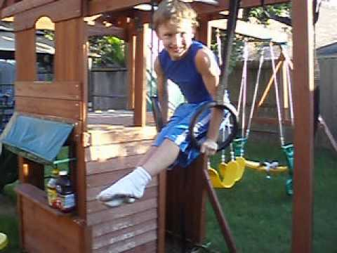 Muscle Up- Young 7 year old!