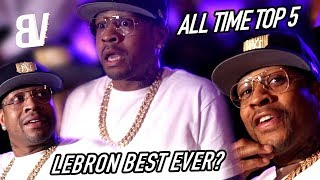 Allen Iverson Speaks His MIND! GOAT Debate, Guarding Shaq, His Top 5 All Time & More!