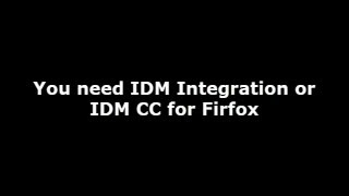 Repeat youtube video IDM CC for Firefox 49, 50, 51, 52, 53  Download or IDM integration