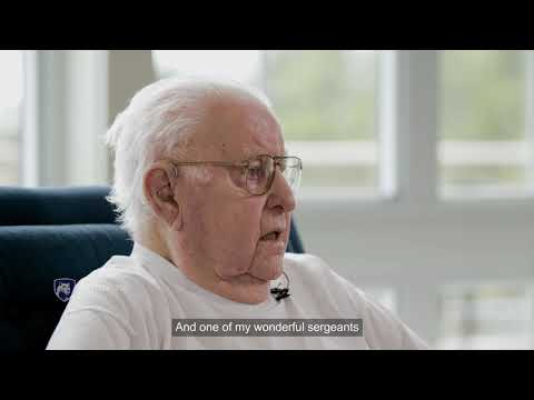World War II paratrooper discusses near-death experience