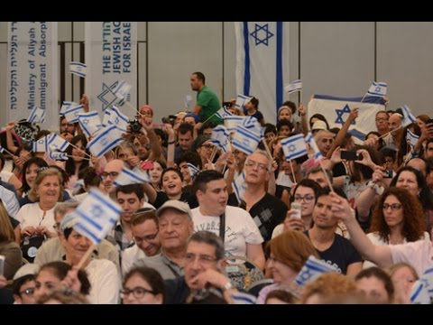 400 OLIM DE FRANCE SONT ARRIVES EN ISRAËL