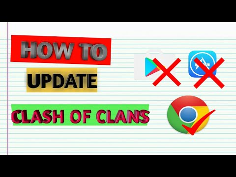 Update Coc without Google play store