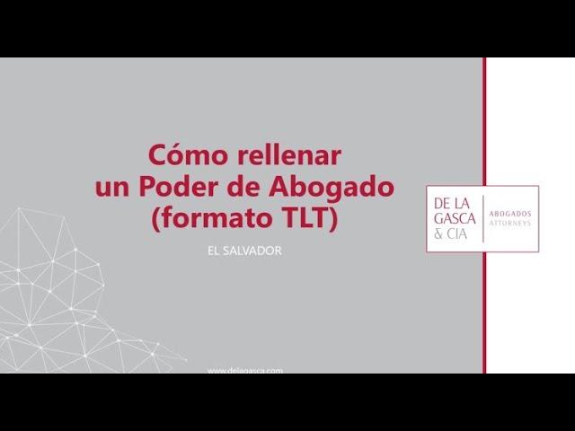 TUTORIAL PODERES (formato TLT)