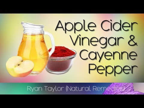 Apple Cider Vinegar & Cayenne Pepper Drink: Benefits