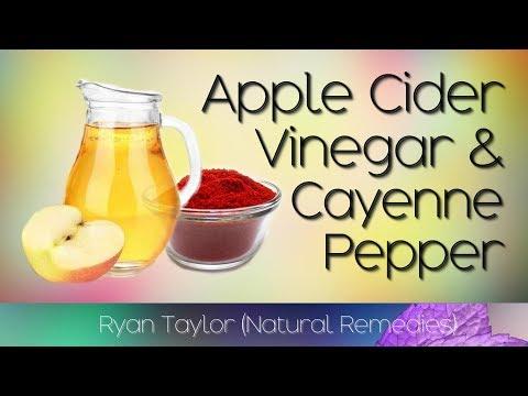 Apple Cider Vinegar & Cayenne Pepper Drink: Benefits