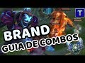 BRAND GUÍA DE COMBOS S9   ¡El support con más daño del juego!   TenYasha LOL