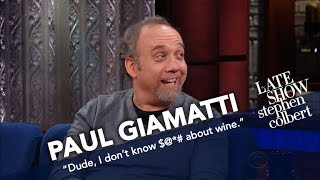Paul Giamatti, The Merlot Guy, Knows Nothing About Wine
