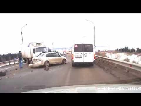 ДТП Пермь апрель 2017