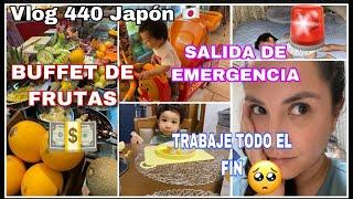 VLOG 440 JAPÓN TRABAJANDO TODO LE FIN + SALIDA DE EMERGENCIA + SUEGROS AL RESCATE +