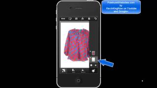 PhotoShop Touch Iphone App Tutorial Complete Overview