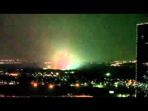 Alien Attack in Fort Worth Texas 11/5/2011